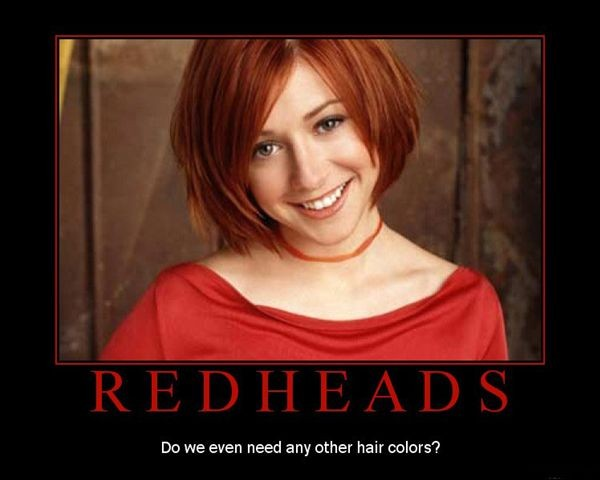 Other fun Red Head Factoids:
