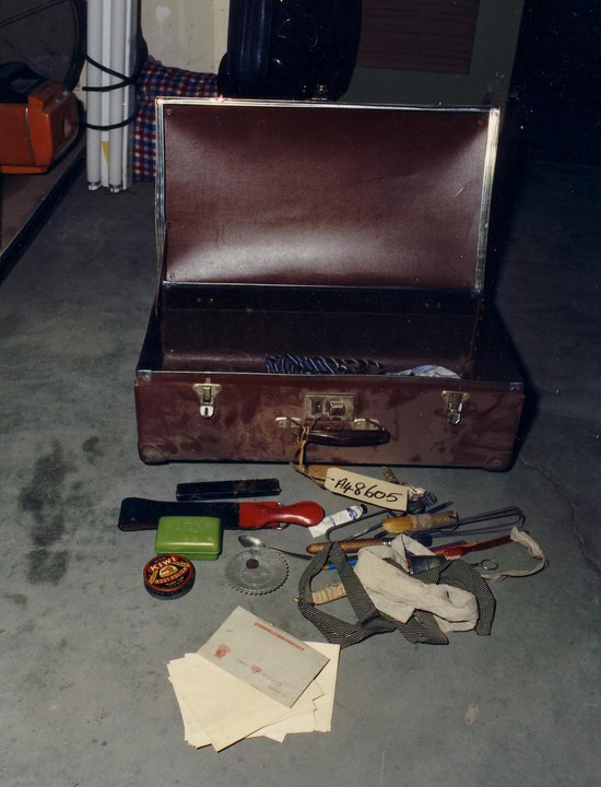 Suitcase-and-contents
