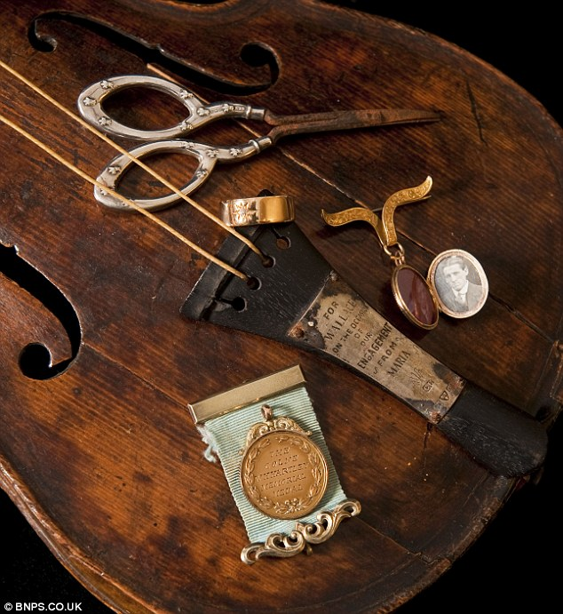 Violin from the titanic found and authenticated as real for Body jewelry las vegas