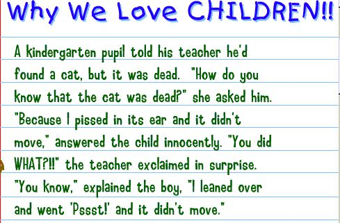 Reply To Kids Say The Darndest Things