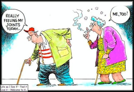 Image result for abandon the elderly cartoon