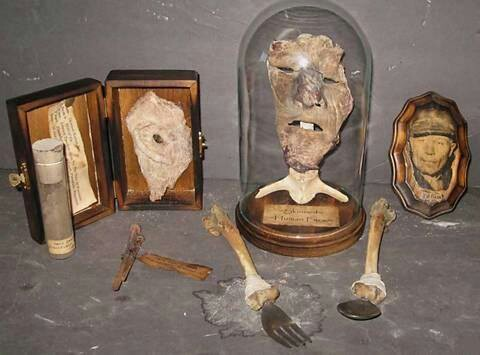 More of Gein's souvenirs