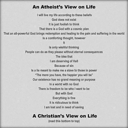 athiests and christians