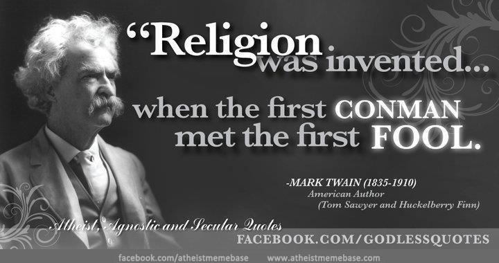 Mark Twain Quote « Spydersden
