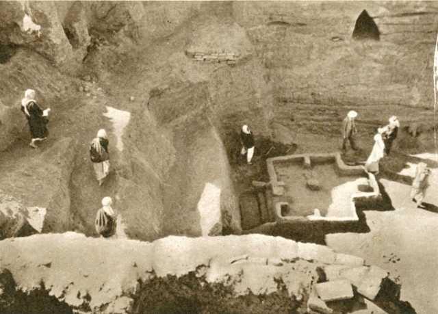 Excavation at Eridu
