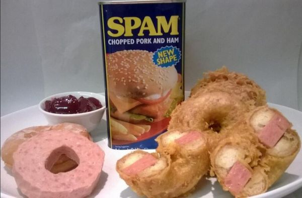 spam donuts