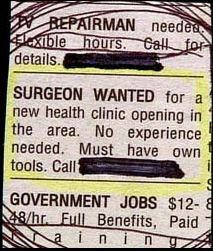 funniest classified ads