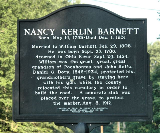 nancy barnett marker