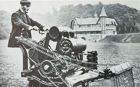Vintage photo of a Ransomes