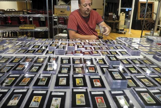 Rare Baseball Card Collection Spydersden