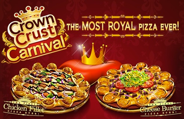 crown crust pizza