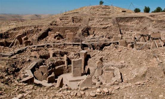 Gobekli-Tepe excavation site
