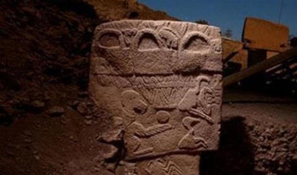 Sculpture at Gobekli-Tepe