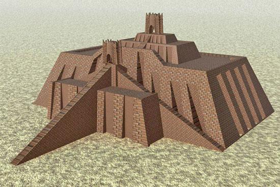 ziggurat reconstruction