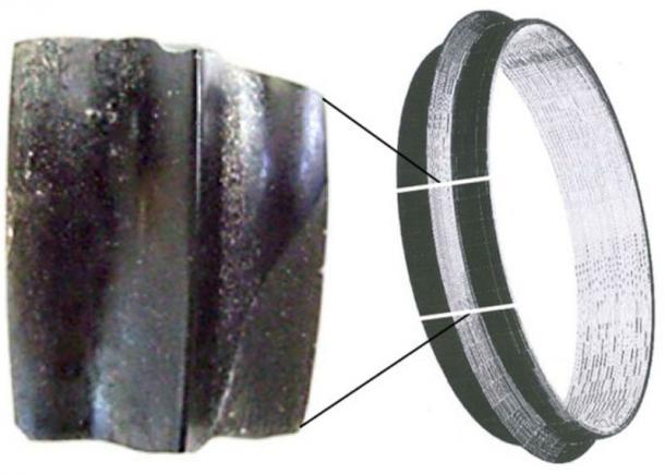 Asikli-Hoyuk-obsidian bracelet